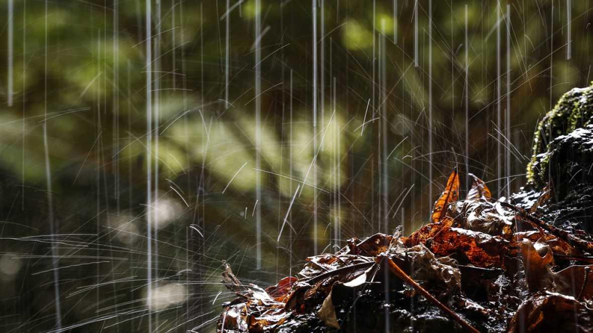 Una borrasca con frentes sucesivos dejará lluvias en todo  el país el fin de semana