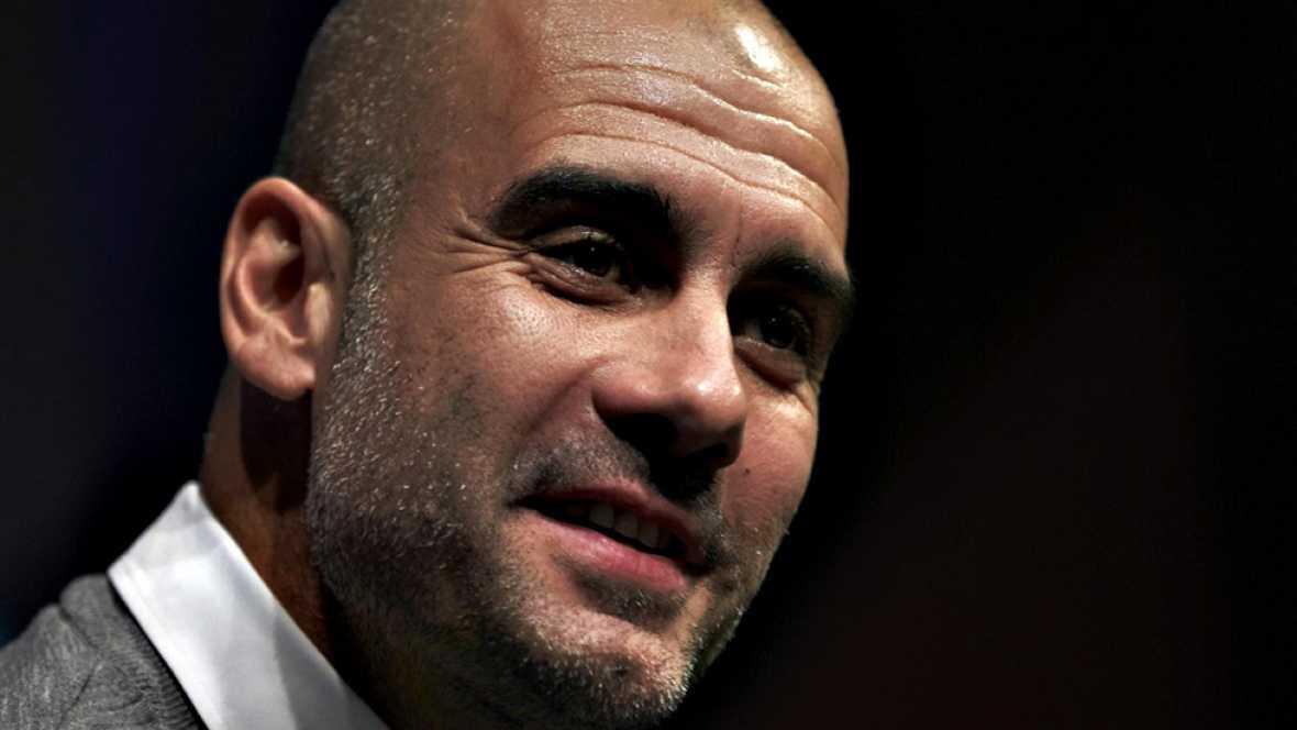 """El entrenador del Manchester City, Pep Guardiola, defendió su  estilo de juego en la previa del partido ante el Southampton de este  domingo (14.30 horas) y aseguró que es """"bueno, pero no tanto"""" como  para ganar al FC Barcelona en su primer intento."""