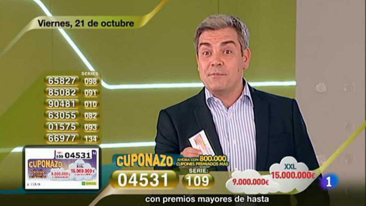 Sorteo ONCE - 21/10/16  - ver ahora