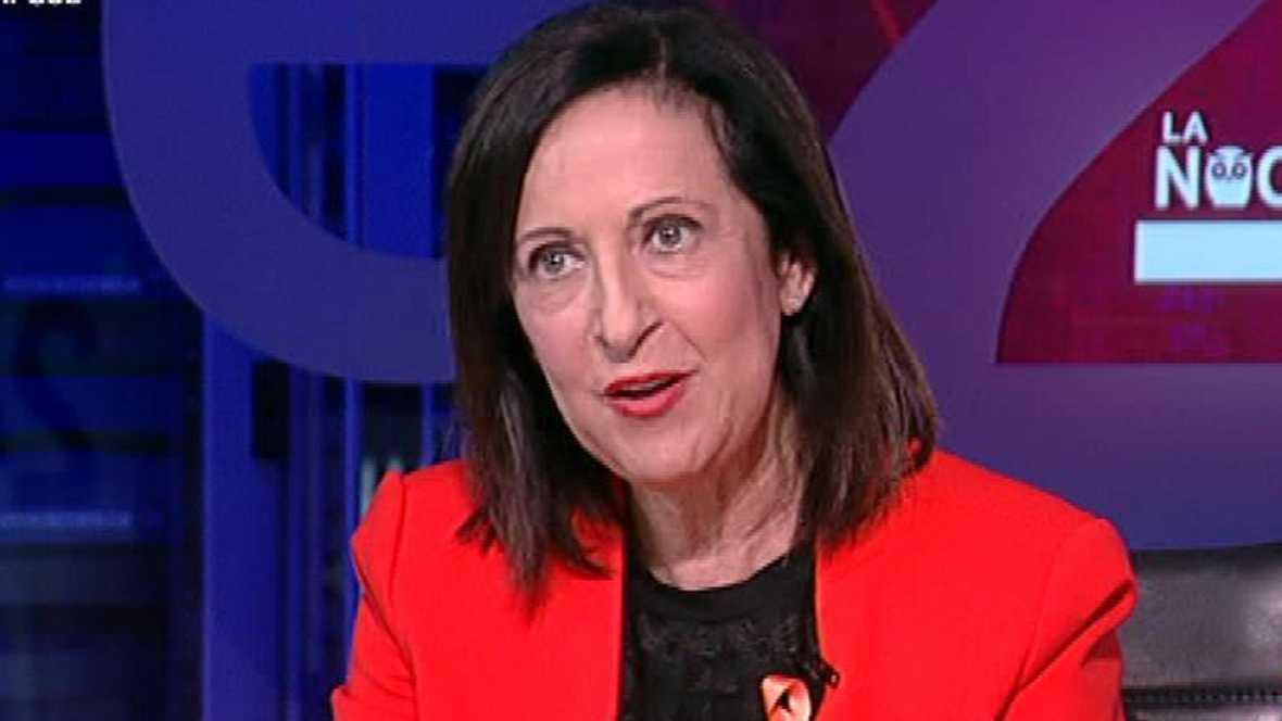 Margarita Robles: ¿El `no¿ a Rajoy es un cambio necesario para España¿