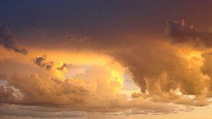 Cielos nubosos o cubiertos con precipitaciones en gran parte de la península