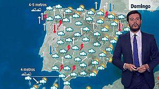 Precipitaciones en gran parte de la Península y Canarias