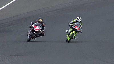 Motociclismo - Campeonato de España de Velocidad. 1ª Carrera. Circuito de Navarra