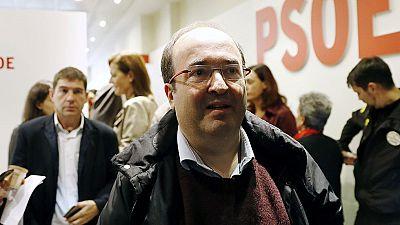 """Iceta pide que la gesti�n de la abstenci�n socialista sea """"sensible e inteligente"""" con el PSC"""