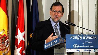 """Rajoy ve """"muy razonable"""" la decisión del PSOE de abstenerse en su investidura"""