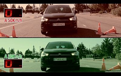 'Laboratorio' - 50km/h vs. 30km/h