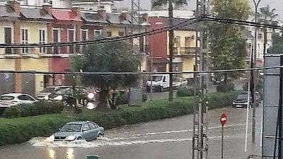 Alerta amarilla en Andalucía por unas lluvias que continuarán