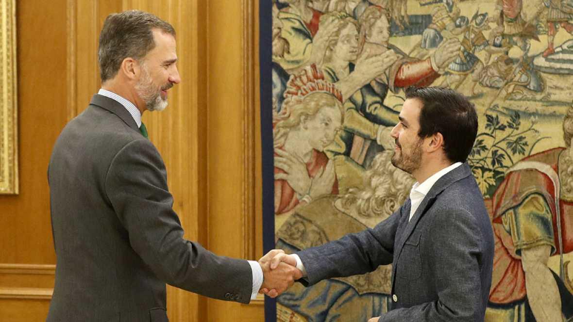 """IU y En Marea alertan al rey de una oleada de protestas contra el Gobierno de Rajoy y su """"guardia pretoriana"""""""