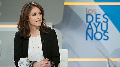 """Andrea Levy al PSOE: """"No puede haber equidistancia entre el Gobierno de Espa�a y el de la Generalitat"""""""