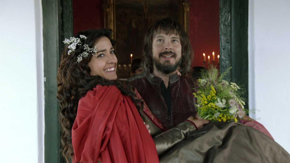 Águila Roja - Gonzalo y Margarita se casan