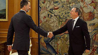 Comprom�s y En Com� Podem reiteran ante el rey su no a la investidura de Rajoy