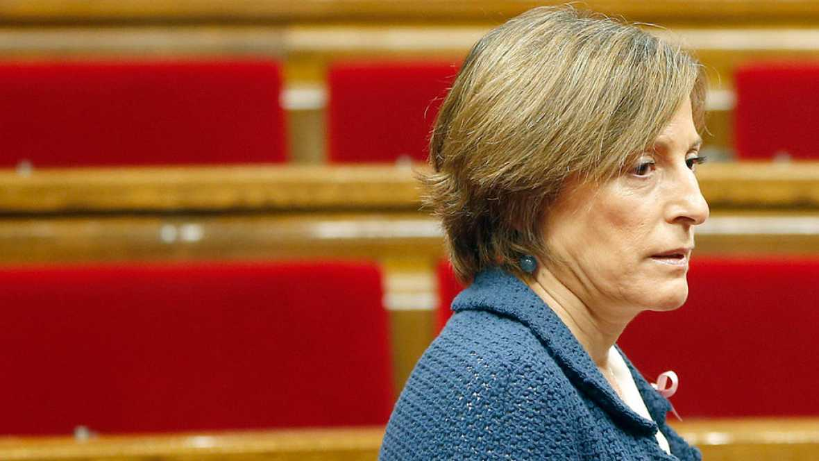El TSJC acuerda investigar a Forcadell por desobediencia al Constitucional