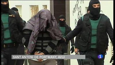 Operació contra el terrorisme jihadista a Sant Antoni