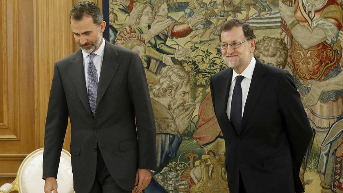 """Rajoy acepta el encargo de formar Gobierno y promete trabajar para que sea """"capaz, estable y duradero"""""""