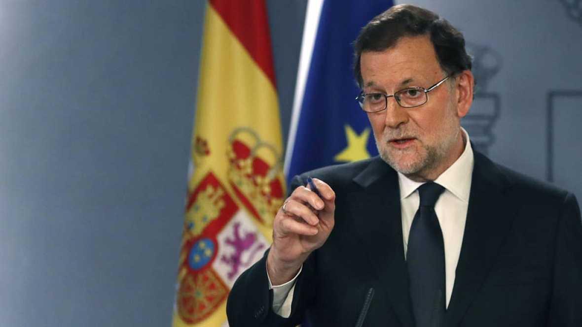 Rajoy hará un discurso conciliador centrado en  los retos más inmediatos del nuevo gobierno
