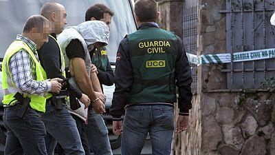 El asesino confeso de Pioz reconstruye el crimen en el chalet