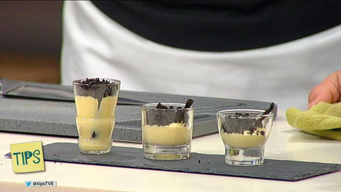 TIPS - Cocina - Crema de mango con tierra dulce