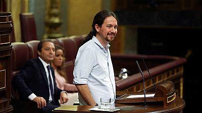 Rajoy e Iglesias protagonizan un debate cargado de reproches e iron�a