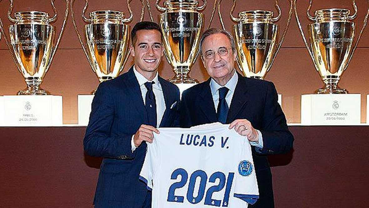 """Lucas Vázquez: """"Es un día muy importante, un paso en mi carrera"""""""