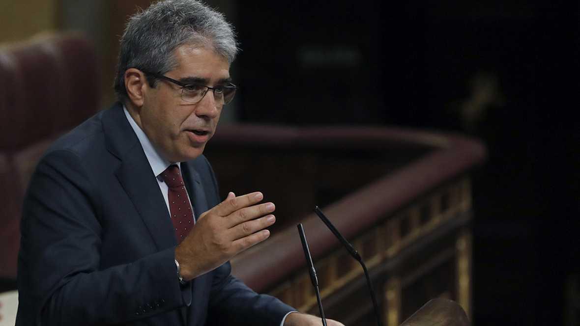 """Homs, a Rajoy: """"En sus manos está mantener la confrontación o abrir el diálogo"""""""