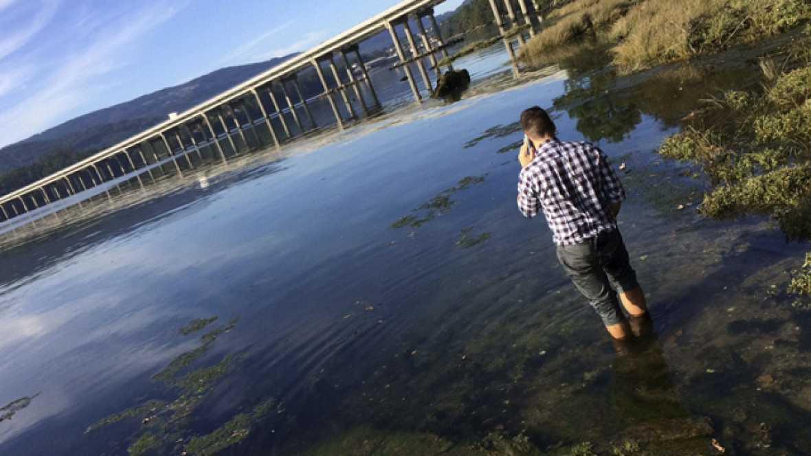 El móvil de Diana Quer ha aparecido debajo del puente de la autovía de Barbanza
