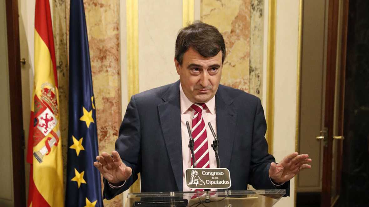"""Esteban (PNV): """"Mezclar el Gobierno de Euskadi con lo que pueda suceder aquí, no, no tenemos necesidad"""""""