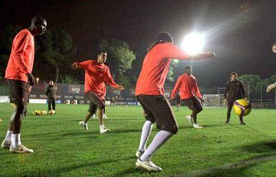 Un equipo uzbeko ha pagado 5 millones de euros por entrenar con los jugadores azulgranas.