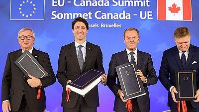 La Unión Europea y Canadá firman el acuerdo de libre comercio conocido como CETA
