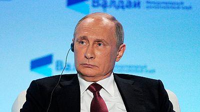 Putin, muy presente en la campaña en EE.UU., asegura que no tiene interés en influir en la misma