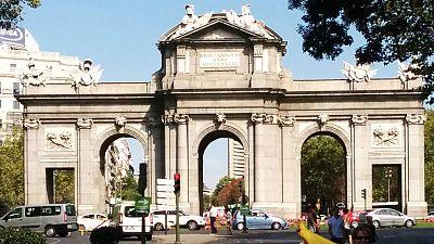 La puerta de Alcalá, uno de los monumentos más fotografiados de la capital