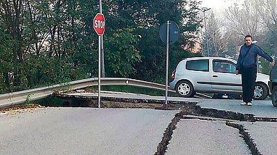 Italia, una de las zonas con mayor actividad sísmica de Europa