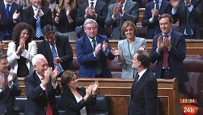 Parlamento - El foco parlamentario - Rajoy presidente - 30/1082016