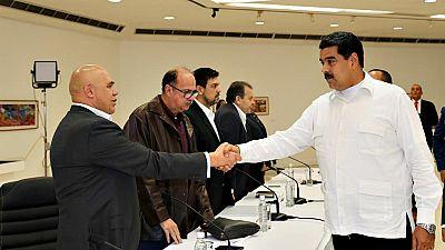 Primera reunión entre el Gobierno de Maduro y la oposición en Venezuela