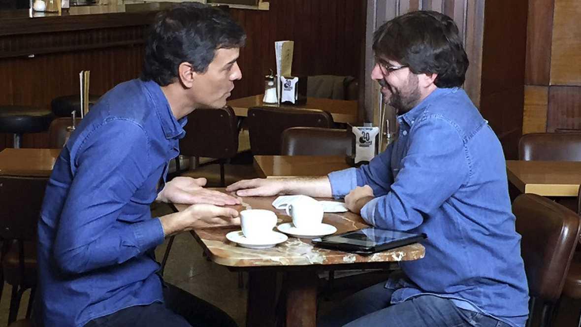 Pedro Sánchez arremete contra Susana Díaz y defiende que su partido se debe acercar a Podemos