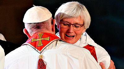 El papa Francisco participa en Suecia en la conmemoración de los 500 años de la reforma luterana