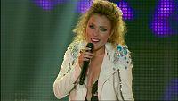 Gisela canta 'Vida' en el concierto de OT