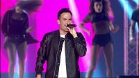 Naim Thomas canta 'Funky Street' en el concierto de OT