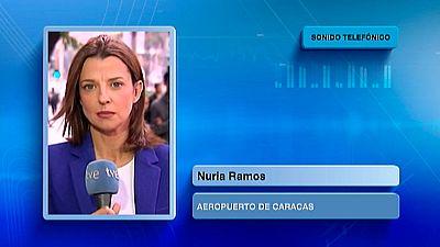 Últimas noticias de Nuria Ramos corresponsal detenida en el aeropuerto de Caratas
