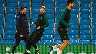 El Barça, al asalto de los octavos en Manchester
