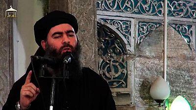 El líder del Estado Islámico llama a sus partidarios a resistir