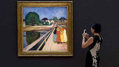 Nueva York subasta grandes obras de artistas impresionistas y modernos como Munch y Monet