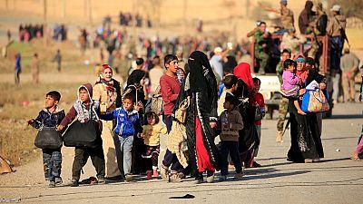Los campos de refugiados de ACNUR acogen el éxodo masivo desde Mosul