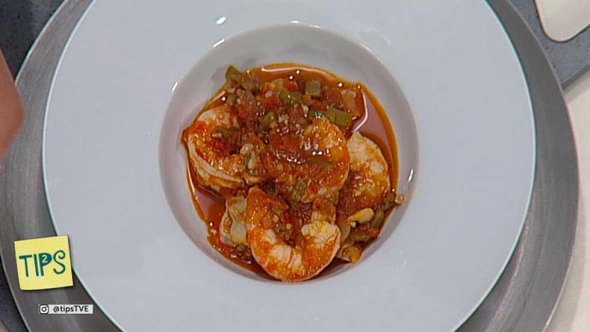 TIPS - Cocina - El pimentón y cazuela de marisco con verduras