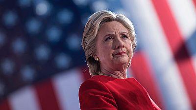 Hillary Clinton, que no compareció anoche, valorará los resultados a partir de esta tarde