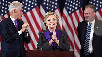 """Hillary Clinton: """"Sigo creyendo en EE.UU. y debemos aceptar el resultado"""""""