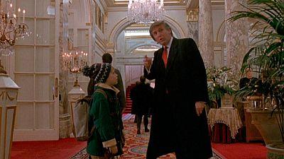 La 'carrera' en el cine de Donald Trump