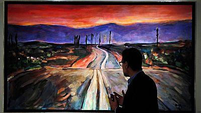 Bob Dylan, también artista, expone sus cuadros en Londres