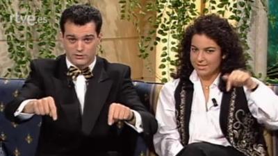 ¿Qué apostamos? - Arantxa Sánchez Vicario, Ángeles Martín, Andrés Aberasturi y Marcello Mastroianni