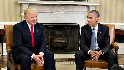 Trump rebaja su tono desde su victoria en las elecciones de EE.UU.