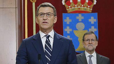 Núñez Feijoó promete su cargo como presidente de la Xunta de Galicia